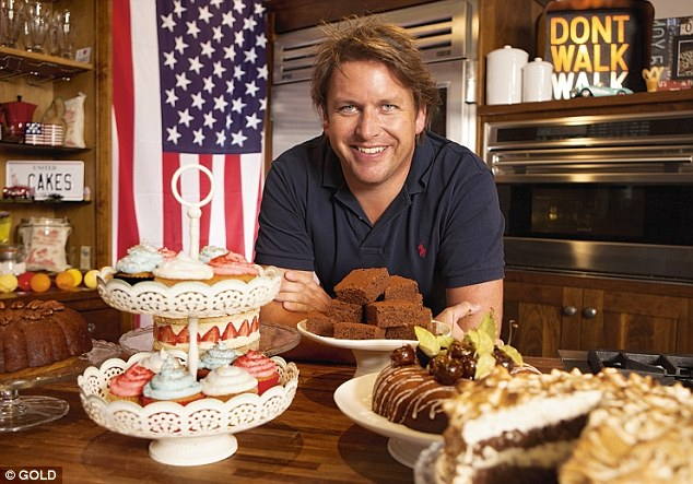 As he travels the U.S. with a new series on baking, James Martin explains how he built a £5m fortune despite being unable to read.